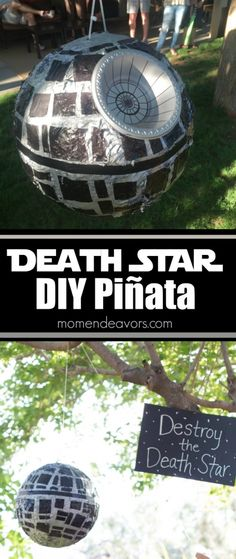 Easy DIY Star Wars Death Star Piñata – Mom Endeavors