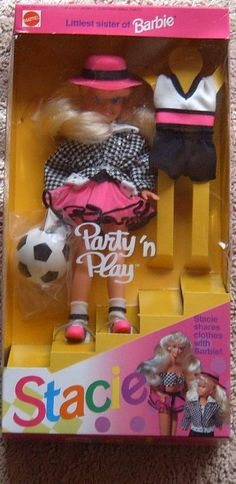 I had this and the matching Barbie. I didn't even like barbies