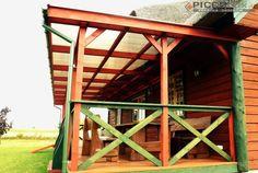 Realizacja - stylowy daszek tarasowy! Zobacz więcej w naszym portfolio: http://www.piccolux.pl/