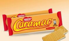 Caramac - mijn favoriet !!