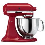 KitchenAid KSM150PSER Artisan Series 5-Quart Mixer, Empire Red  Kitchen! http://Kitchenaid-stand-mixer.2014bestdealsonline.com/