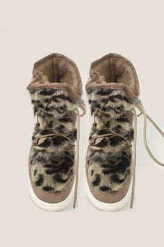 Basket montantes fourrure léopard Vanessa Wu