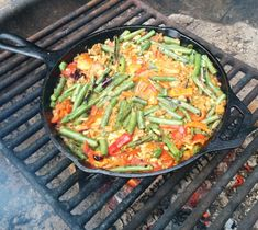 Bring a bit of Spanish flair into the backcountry with this cast iron paella. Get the full recipe here.