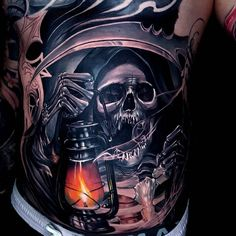 Grim Reaper by ATA, an artist based in Bali, Indonesia.