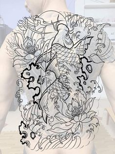 Wolf Tattoos Men, Frog Tattoos, Buddha Tattoos, Hand Tattoos, Sleeve Tattoos, Koi Tattoo Design, Japan Tattoo Design, Japanese Tattoo Designs, Asian Tattoos