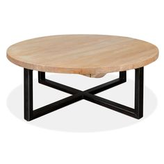 Arthur Reclaimed Round Coffee Table