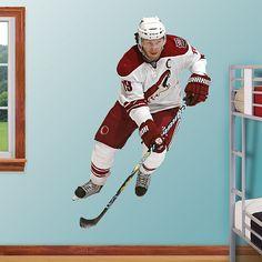 Shane Doan - Phoenix REAL.BIG. Fathead – Peel & Stick Wall Graphic | Arizona Coyotes Wall Decal | Sports Home Decor | Hockey Bedroom/Man Cave/Nursery