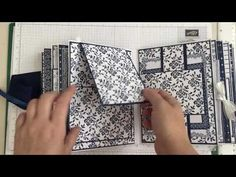 My Tutorial! Stampin Up Fresh Florals Mini Album x Great gift idea Step by Step Pt 1 Mini Album Tutorial from start to finish! The concept of making a mini album in any size! Tutorial Scrapbook, Diy Mini Album Tutorial, Mini Albums Photo, Tarjetas Stampin Up, Mini Albums Scrapbook, Scrapbook Cards, Online Scrapbook, Handmade Books, Handmade Cards