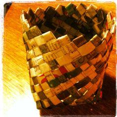 Newspaper bowl
