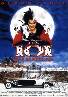 101 Dalmatians, 1996 (6+)  Directed by Stephen Herek and co-produced by John Hughes and Ricardo Mestres,   it stars Glenn Close, Hugh Laurie, Mark Williams, Tim McInnerny, Jeff Daniels and Joely Richardson. This funny story happened in England at Christmas ... villain Cruella De Vil decides to steal exactly 101 Dalmatians to complete your collection of his fur. However, she still has no idea what was coming, because the owners and parents of little spotted puppy will not sit idly by