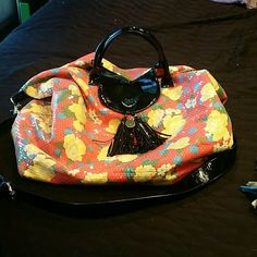 Betsey joshnson duffel / weekender size bag Great condition Betsey Johnson Bags Travel Bags