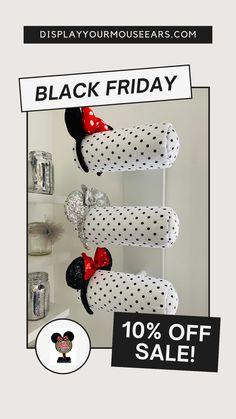 Hat Holder, Disney Home, Disney Ears, Off Sale, Mouse Ears, Disney Trips, Disneyland, Black Friday, Traveling