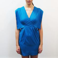 Abby Dress Teal, $95, now featured on Fab.