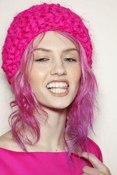 hot pink pink