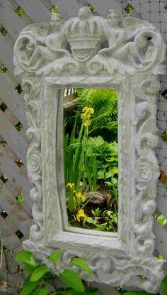 Mirrors in the Garden - Hosta Forum - GardenWeb