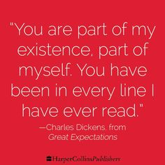 Charles Dickens, from Great Expectations