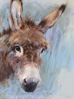 Pastel art ideas animals ideas for 2019 Animal Paintings, Animal Drawings, Art Drawings, Watercolor Animals, Watercolor Paintings, Artwork Paintings, Acrylic Paintings, Pastel Artwork, Farm Art