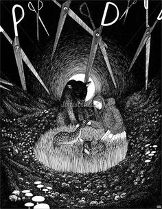 wolves of willoughby chase illustration - Google Search