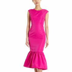 Kate Ermilio fitted slik faille dress.  Very girly and timeless elegance for evening.  What a way to make your entrance!