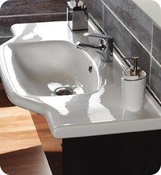 """Nameeks 081200-U CeraStyle Bathroom Sink  Product Code: CeraStyle-081200-U  31 5/8""""W x 18 7/8""""D x 2""""H  $412.50$550.00"""