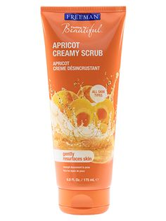Clearance Apricot Creamy Scrub from Freeman | Find more cruelty-free beauty @Quirkist |