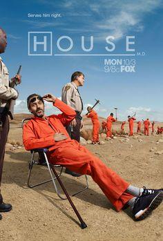 Dr. House. La acidez elevada a la enésima potencia con el humor mas negro que vi. Excelente