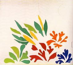 The Acanthus, paper cutout collage by Henri Matisse, 1869-1954