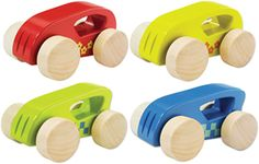 Mini Wooden Toy Cars