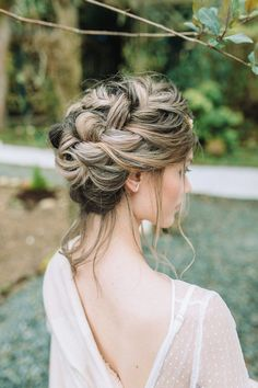 633 best wedding hairstyles images on pinterest wedding hair braided wedding hairstyle junglespirit Image collections