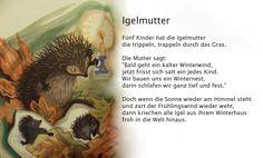 World Languages, Learn German, Cursed Child Book, Vintage Postcards, Hedgehog, Children Poems, Pork, Kids Poems, Forest Nursery