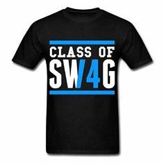 Amazon.com: UnisexFit Men's Class Of Swag Class Black: Clothing