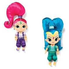 Nickelodeon's Shimmer and Shine!Avon. Cuddle pillow of Shimmer and Shine from the Nickelodeon show. The show follows the magical adventures of the twin genies with their human friend, Leah. Choice of Shimimer or Shine.  NEW and NOW!  Regularly $24.99.  Shop online with FREE shipping with any $40 online Avon purchase.  #Avon #Home #HomeDecor #CJTeam #Christmas #Kids #Nickelodeon #Shimmer #Shine #AvonLiving #Gift Avon Living Online @ www.thecjteam.com