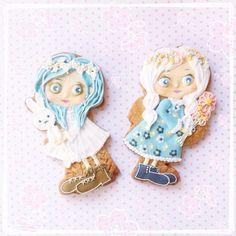 Girls cookies // Magu cookies