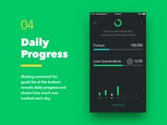 Weekly Goals — Daily Progress Status by VisualRocks.co ➔