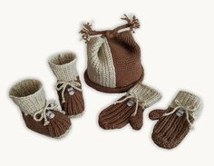 the online pattern store Free Baby Patterns, Kids Knitting Patterns, Knitting Kits, Baby Knitting, Knitted Baby, Weaving Patterns, Free Knitting, Bonnet Pattern, Knit Baby Booties