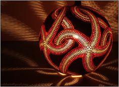 Pendant lamp III – Fractal starfish | Flickr - Photo Sharing!