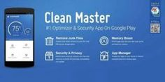 Clean Master – Free Optimizer Android App Description: It time to take action if your device is showing the low memory & slow speed. This app is best solution for you to get rid of slow speed of android phones. Simple & thorough solution with the safety features of device this app is for free.