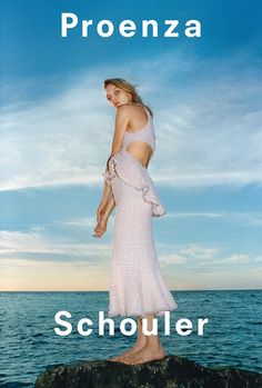 An image from Proenza Schouler's spring 2018 advertising campaign