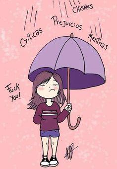 Para los dias que llueve….un paraguas