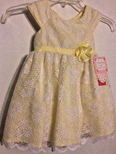 Fuchsia Flocked NEW Jona Michelle Baby Girl/'s 2 Piece Dress With Diaper Cover