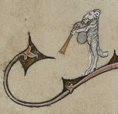Ram playing bagpipes: always a solemn and noble sight. Manuscript description http://ift.tt/2f04yHk