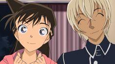 Ran and amuro Heiji Hattori, Manga Detective Conan, Konan, Dc World, Amuro Tooru, Gosho Aoyama, Kaito Kid, My Childhood Friend, Magic Kaito