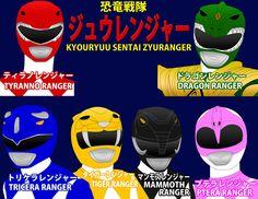 Super Sentai --> Power Rangers