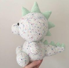 Dexter the Dinosaur Crochet PATTERN, Dinosaur Crochet PATTERN, Amigurumi Dinosaur, Crochet Dinosaur, Digital Download ********************************************************************************** This listing is for a DIGITAL DOWNLOAD of my Dexter the Dinosaur crochet