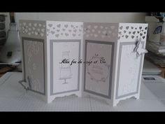 Fererro Friday Elegant top opening Envelope Punch board diamond box - YouTube