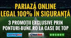 Oferte de top EXCLUSIVE la casele de pariuri online licentiate - Ponturi Bune