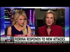 Megyn Kelly Carly Fiorina FULL Interview - Attacks On Fiorina's Record