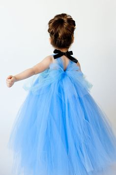 Cinderella Inspired Tutu Dress by TheLittlePeaBoutique on Etsy, $75.00
