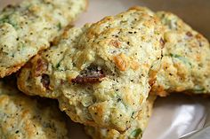 Peppery Bacon and Cheddar Scones