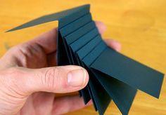 Waterfall mechanism for scrapbook page - tutorial from: Kay's Keepsakes: Club Scrap Lakes Blog Hop